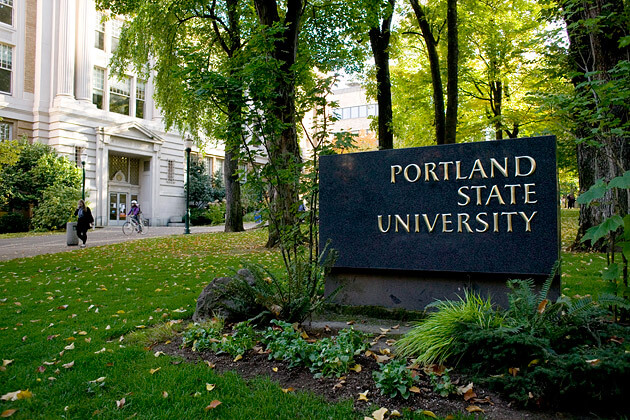 Portland State University, Portland, Oregon - Graphic design school