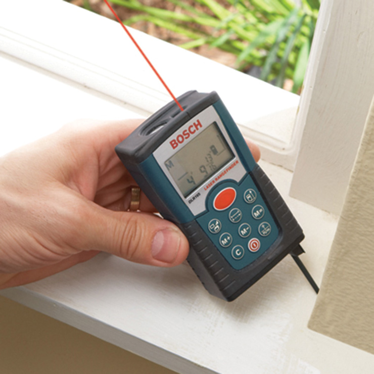 Can I use any laser distance meter outside?