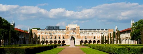 Rice University - undergraduate architecture schools