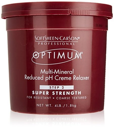 SOFTSHEEN CARSON OPTIMUM CARE MULTI-MINERAL RELAXER-Men's Hair Products