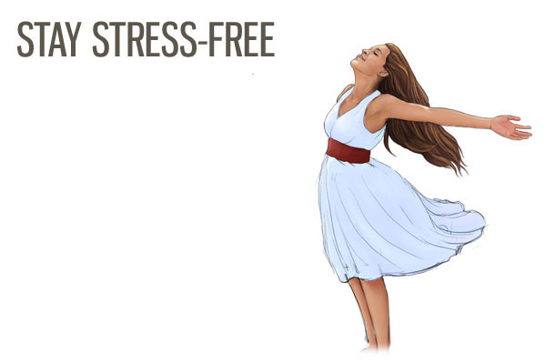 AVOID ANYTHING THAT WILL STRESS YOU UP - hair growth tips
