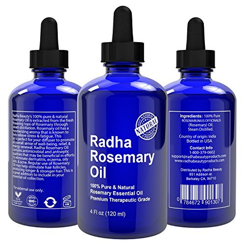 Rosemary - natural hair growth products