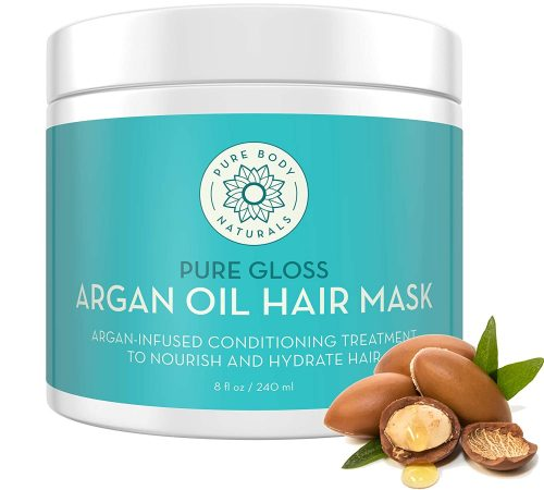 Pure Body Naturals Super Nourishing Argan Oil Hair Mask