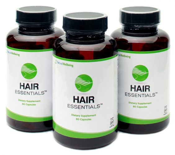 HAIR ESSENTIALS NATURAL REGROWTH SUPPLEMENT FOR MEN AND WOMEN - fast hair growth products