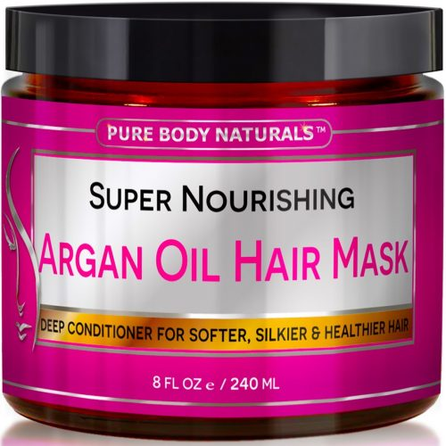 Pure Body Naturals Super Nourishing Argan Oil Hair Mask - fast hair growth products