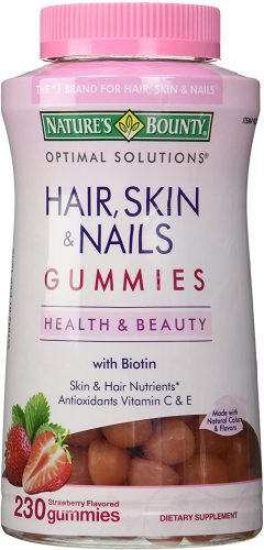 Nature's Bounty Hair, Skin, & Nails Gummies With Biotin