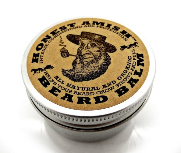 Honest Amish Beard Balm Natural Leave in conditioner