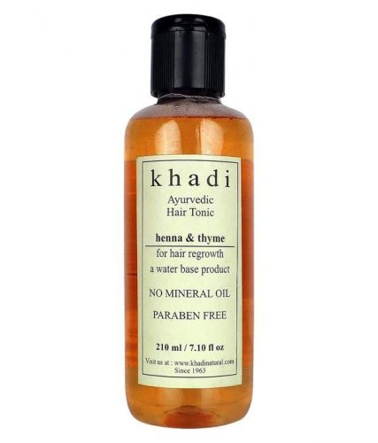 Khadi Ayurvedic Hair Tonic Henna And Thyme