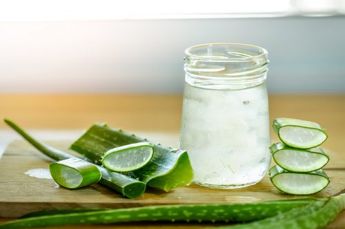 Try Aloe Vera Juice and Neem Paste - natural ways to stop hair fall