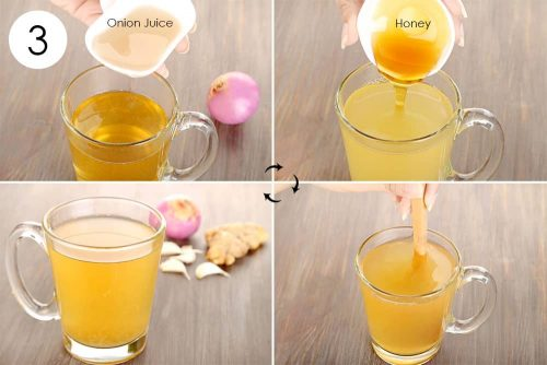 Use of Garlic Juice, Onion Juice or Ginger Juice - natural ways to stop hair fall