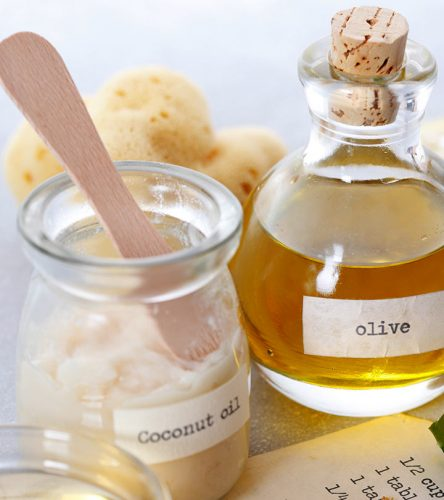 Use of Coconut or Olive Oil Cream