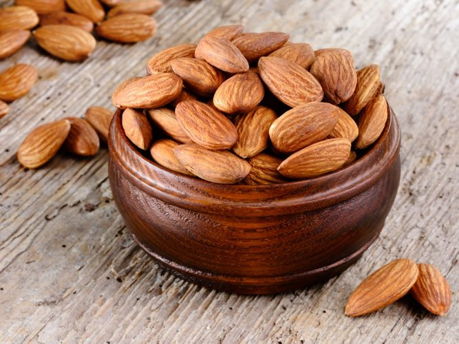 Almonds-FOODS FOR HAIR GROWTH