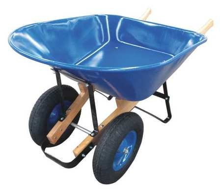 WESTWARD Two-Wheel Wheelbarrow
