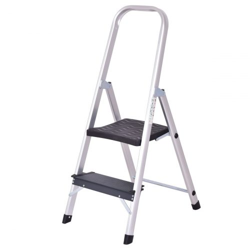 Giantex Aluminum Two-Step Ladder