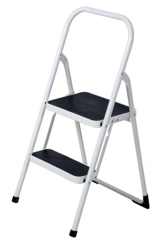 Above Edge Lightweight Folding Ladder