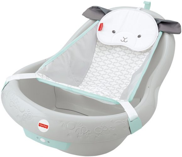 Fisher-Price Calming Vibration Baby Tub-Baby Bath Seats