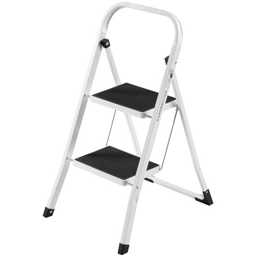 VonHaus Folding 2-Step Ladder