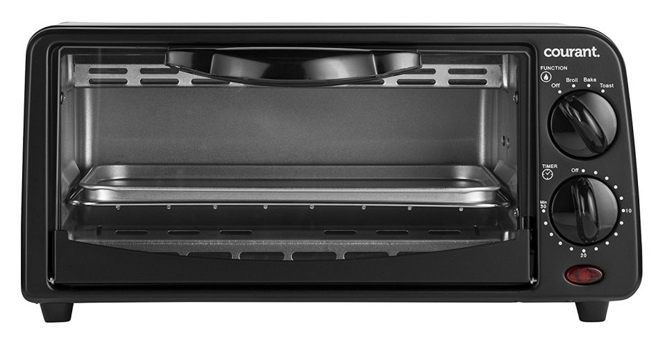 Courant TO-621K Two-Slice Toaster Oven