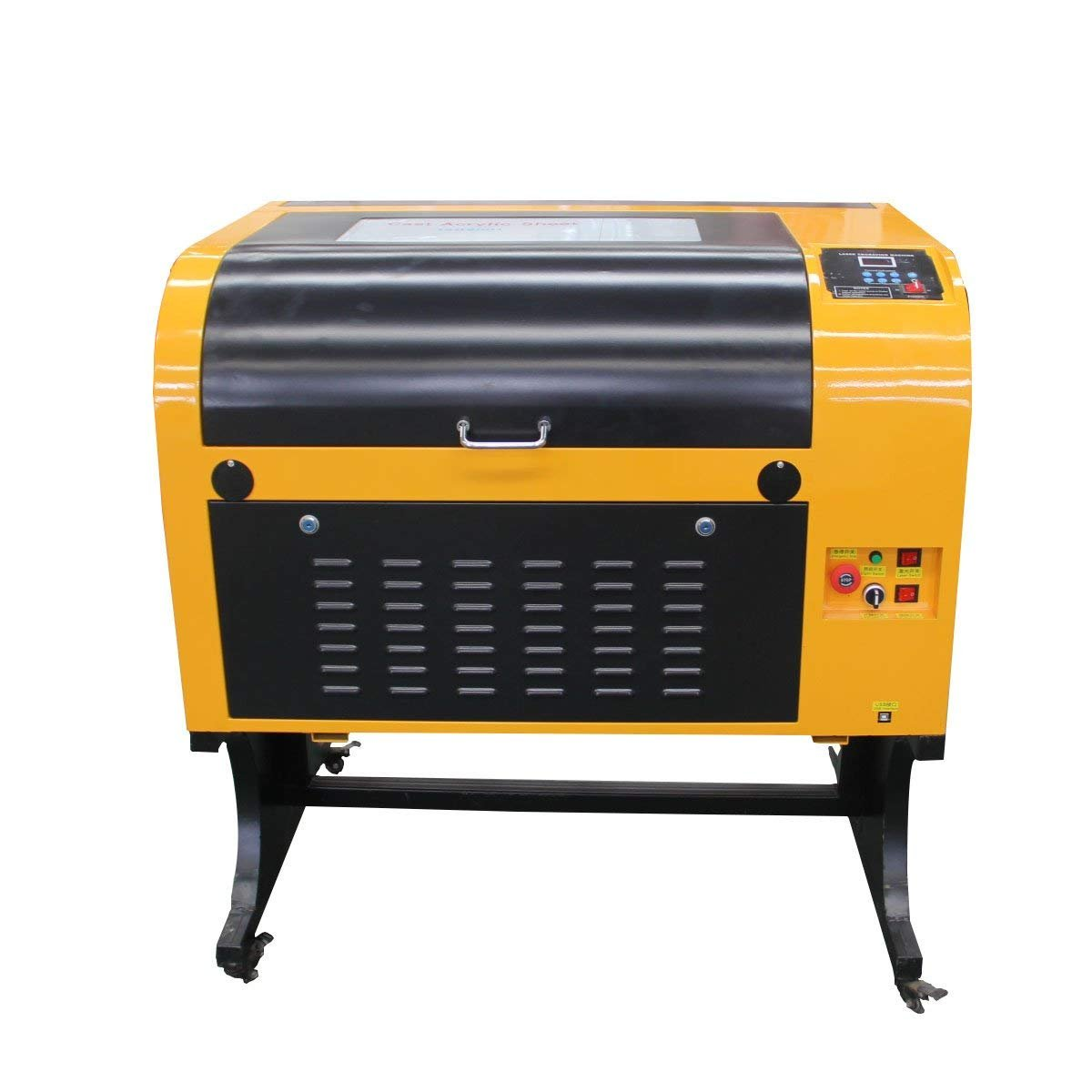 TEN-HIGH Upgraded CO2 Laser Engraving Machine