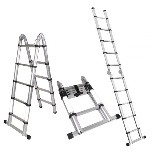 Magshion A-Frame Telescopic Ladder