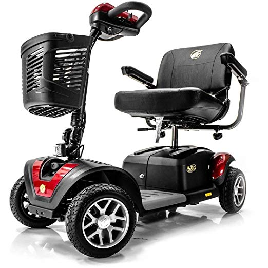 BUZZAROUND EX Extreme 4-Wheel Heavy Duty Long Range Travel Scooter,