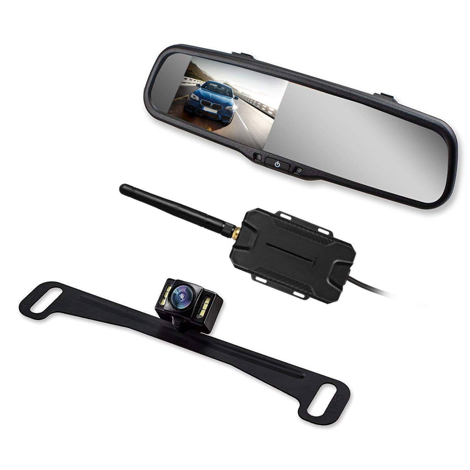 Wireless Backup Camera Mirror by AUTO VOX