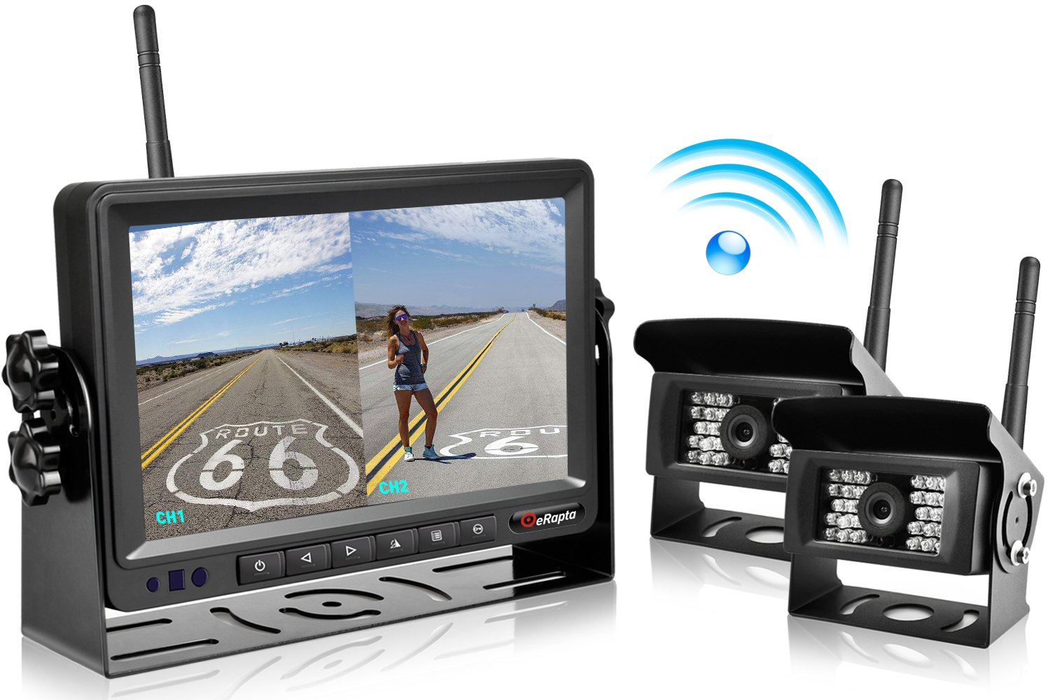 2018 Update Digital Wireless Backup Camera