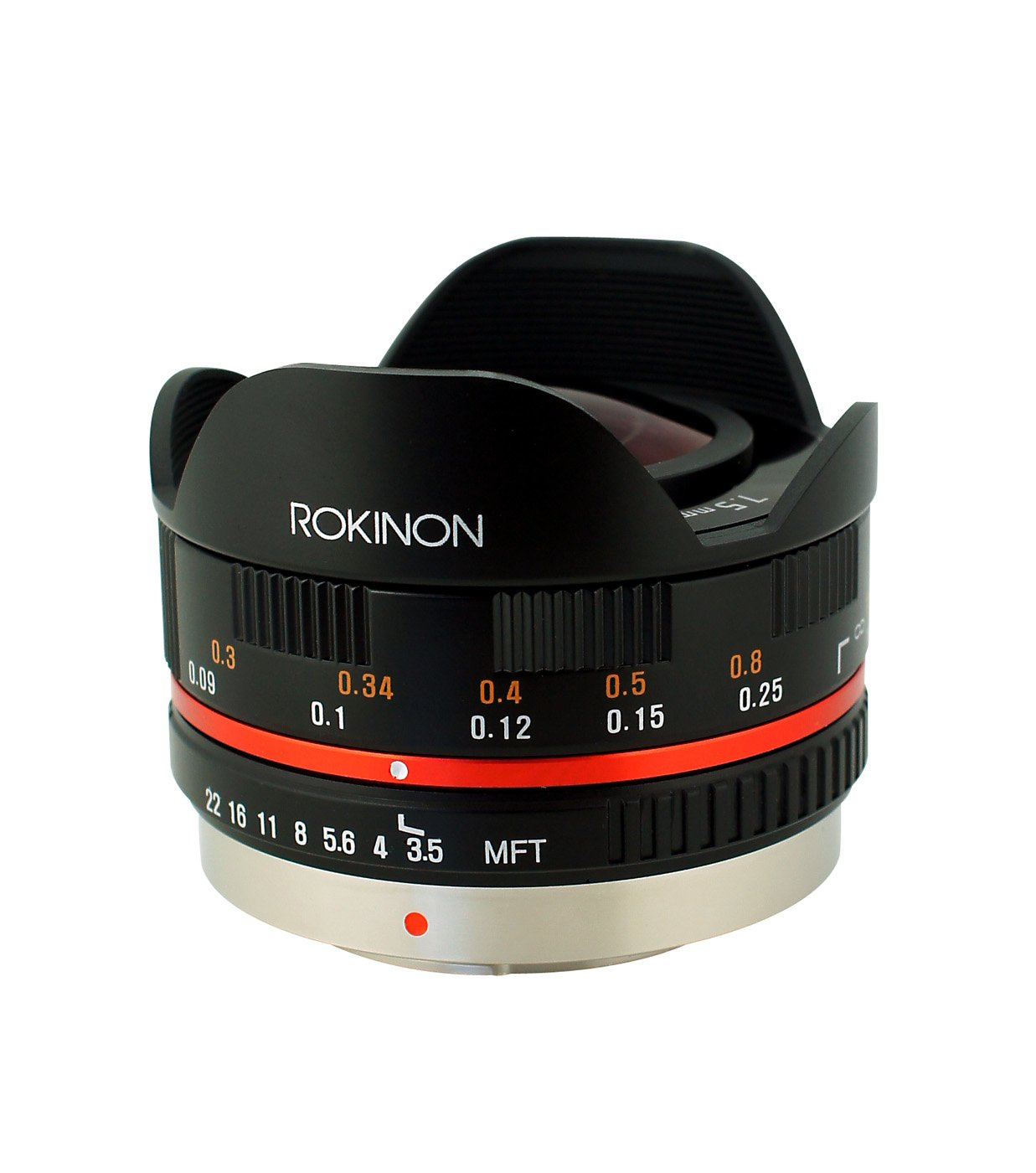 Rokinon Cine CV85M-MFT 85mm T1.5 Cine Aspherical Lens for Micro Four-Thirds 85-85mm Fixed Lens for Olympus/Panasonic Micro 4/3 Cameras