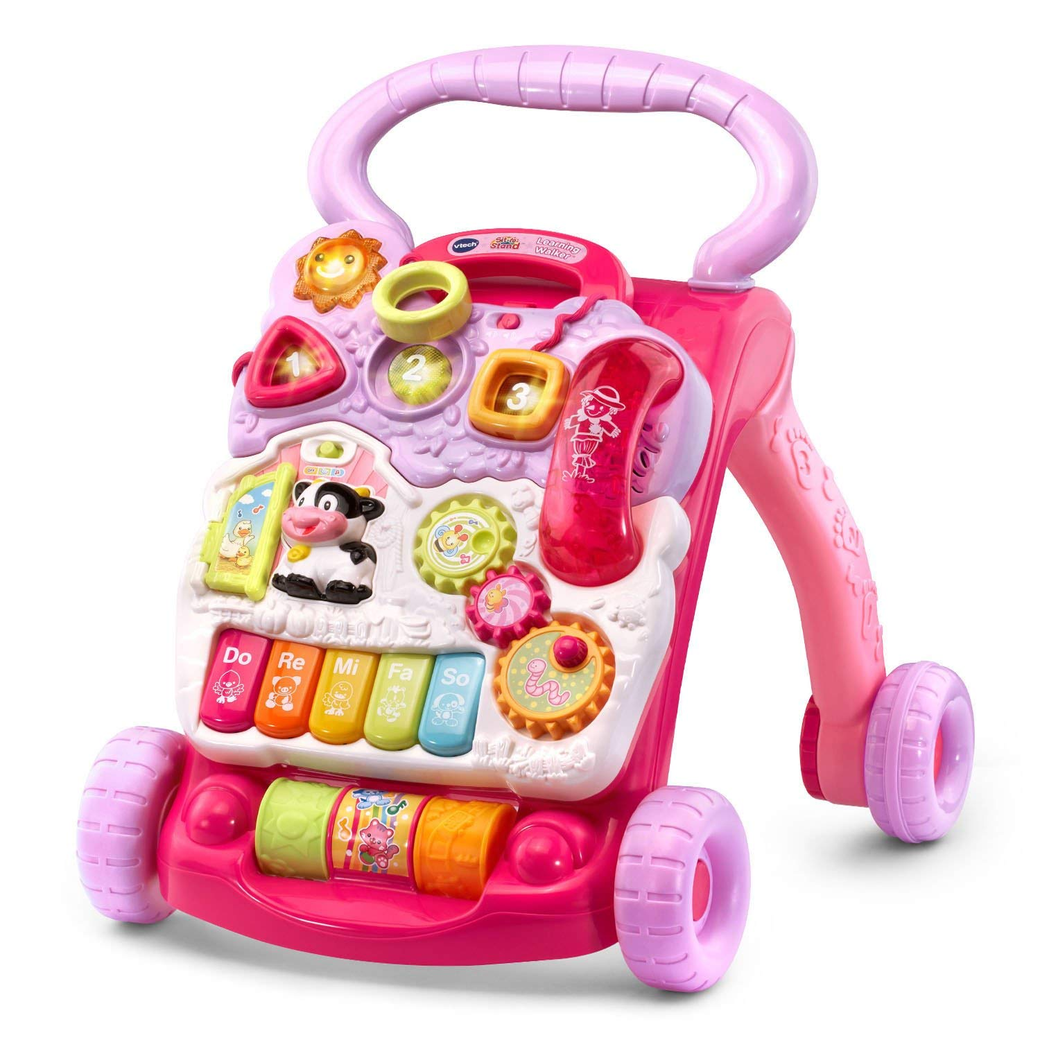 VTech Sit-to-Stand Learning Walker - Pink - Online Exclusive (Standard Packaging)