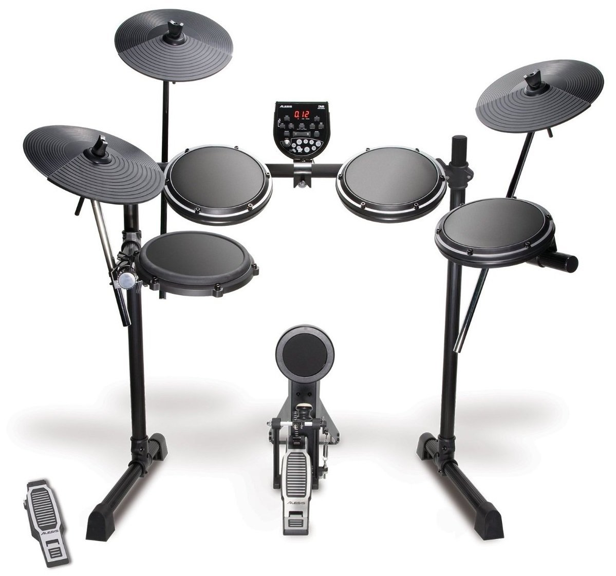 Alesis DM6 USB Kit | Eight-Piece Compact Beginner Electronic Drum Set