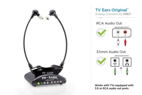TV Ears Original Wireless Headsets System