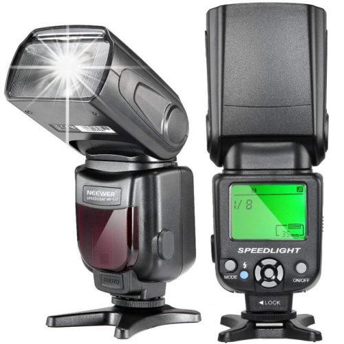 Neewer NW-561 LCD Display Speedlite Flash for Canon & Nikon DSLR Cameras