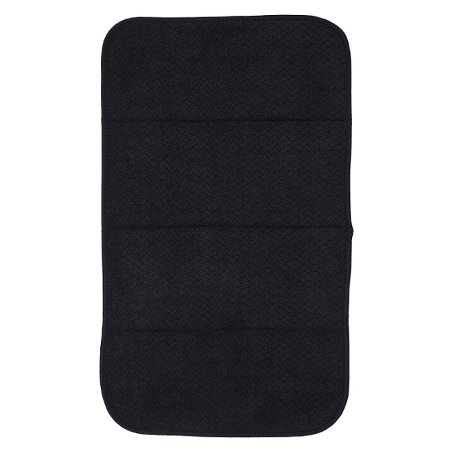 All-Clad Textiles Reversible Fast-Drying Mat, 16-Inch x 28-Inch, Black
