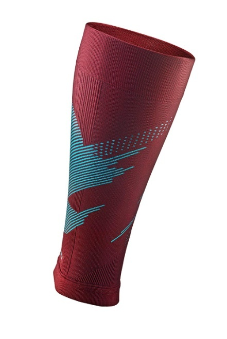 Rocky Blaze Calf & Shin Graduated Compression Leg Sleeves for Men and Women 16-23 mmHg - (1 Pair)