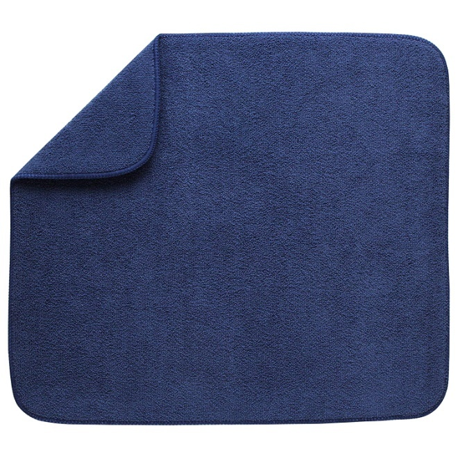 Kitchen Basics 594301 Reversible Dish Drying Mat Large Blue