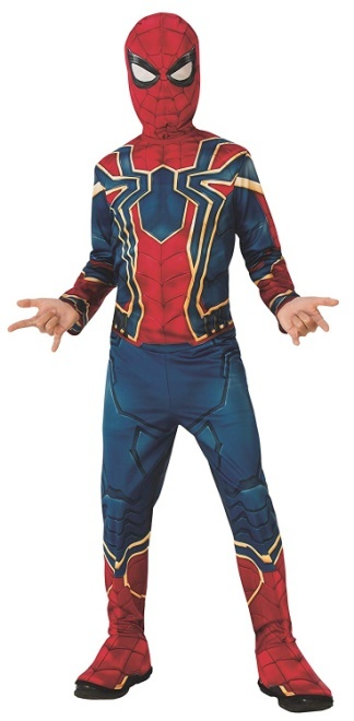 Rubie's Official Avengers Infinity Wars Iron Spider, Spiderman Classic Child Costume - Large, Age 8-10, Height 147 cm