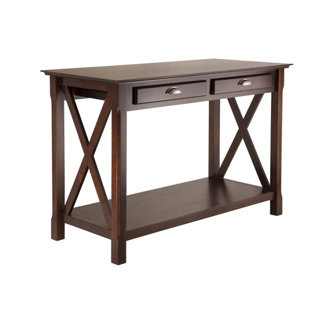 Winsome Wood 40544 Xola Occasional Table Cappuccino Finish