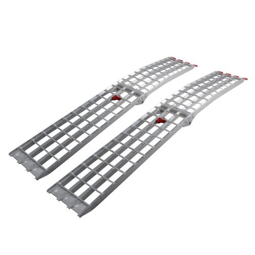 7.5' HD 4-Beam Loading Ramps 1500 lb Heavy Duty - Truck Ramps