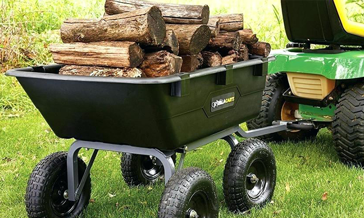 Heavy Duty Lawn Garden Utility Cart Wagon