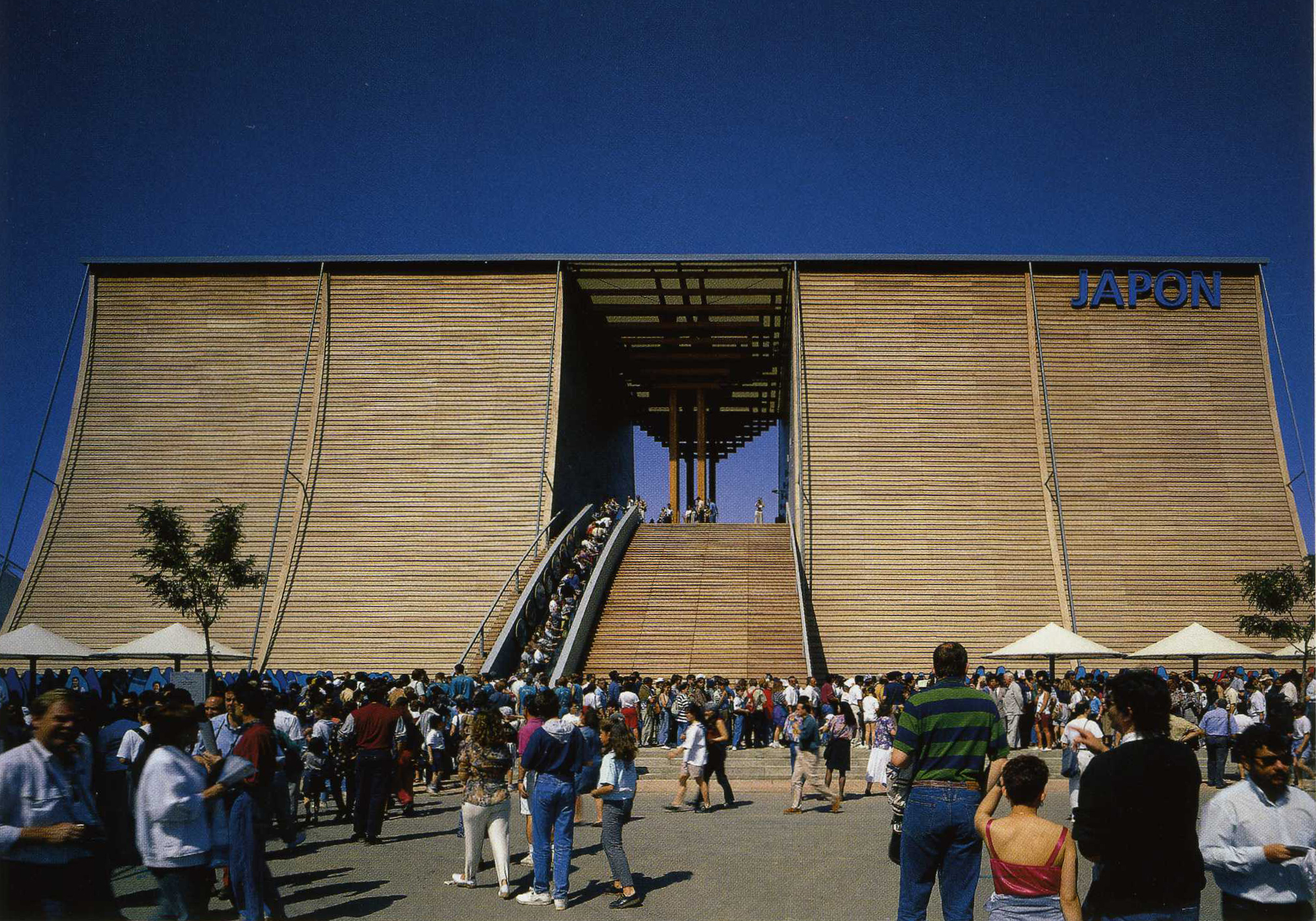 Japanese Pavilion for Expo 92