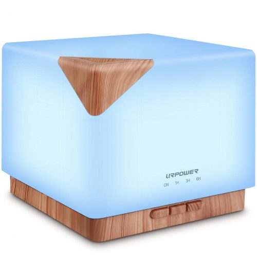URPOWER Square Aromatherapy Essential Oil Diffuser Humidifier
