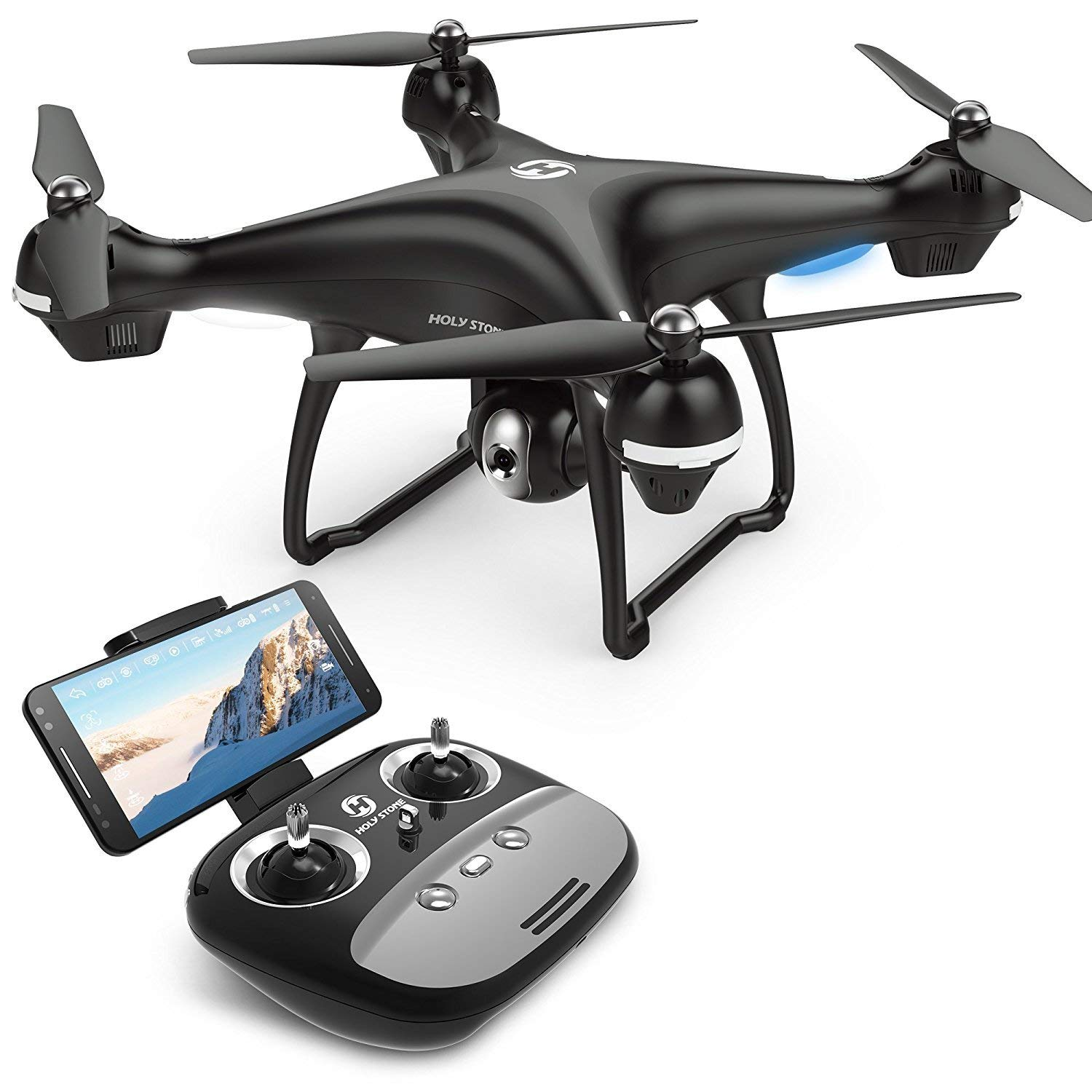 Holy Stone GPS FPV RC Drone HS100 with Camera Live Video 1080p