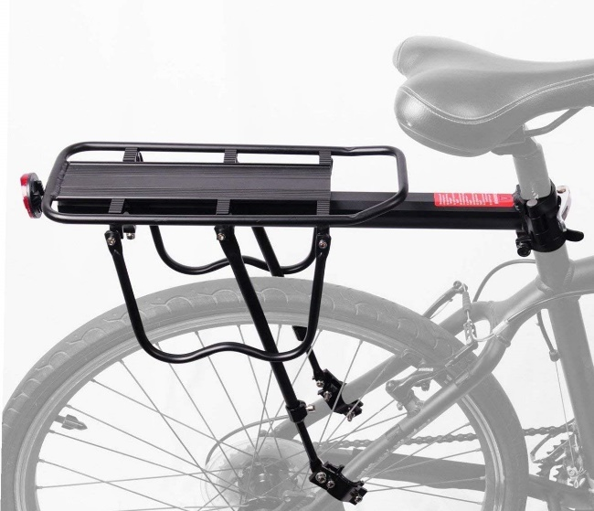coming fits 110 Lbs Capacity - Bike Rear Rack
