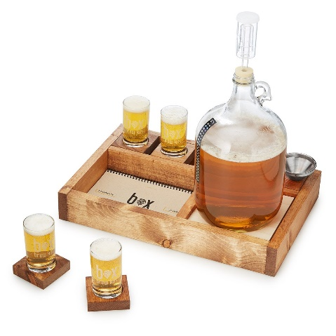 Handcrafted Small Batch Home Brewing Kit Glasses