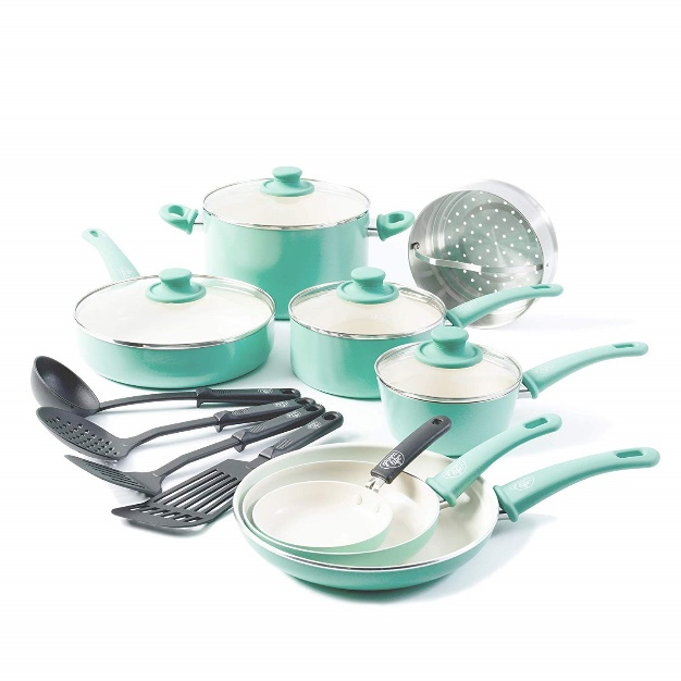 GreenLife Soft Grip 16pc Ceramic
