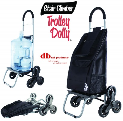 dbest products Climber Trolley, Black