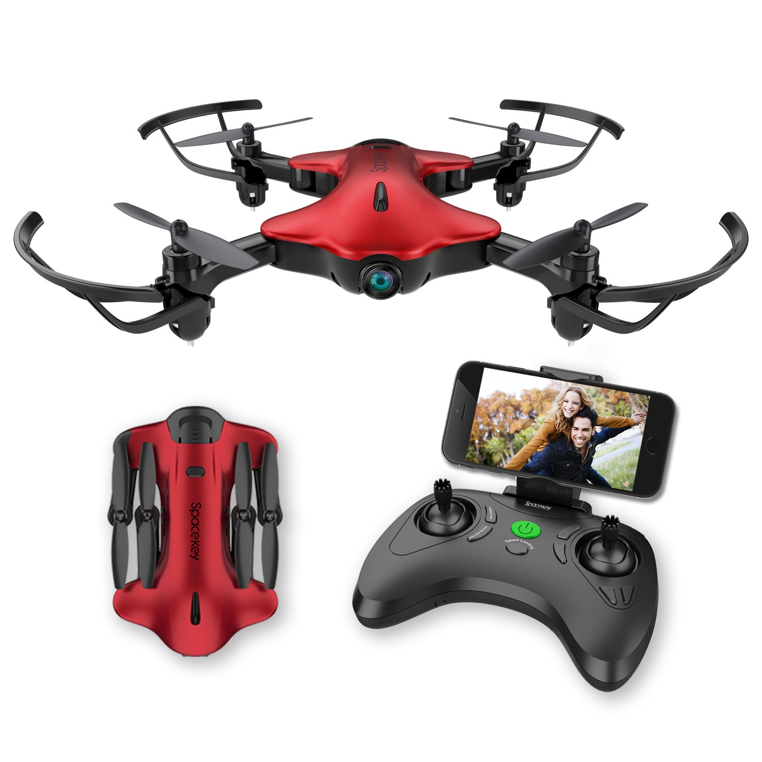 Drones for kids, Spacekey FPV Wi-Fi Drone with Camera 720P HD