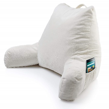 Pillow with Arm Pocket without Back Pain