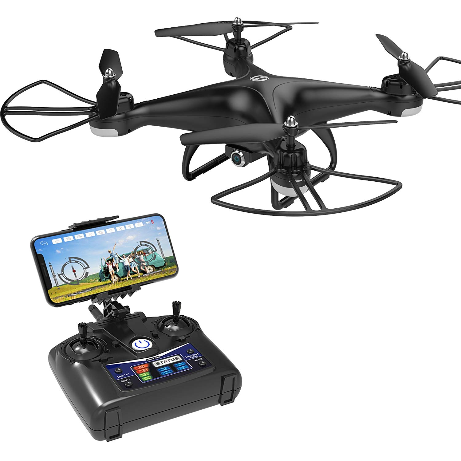 Holy Stone HS110D FPV RC Drone with 720p HD Camera Live Video 120 degrees