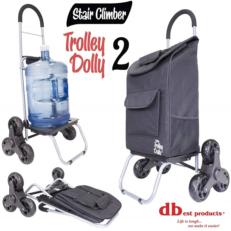 best Stair Climber Trolley, Black Shopping